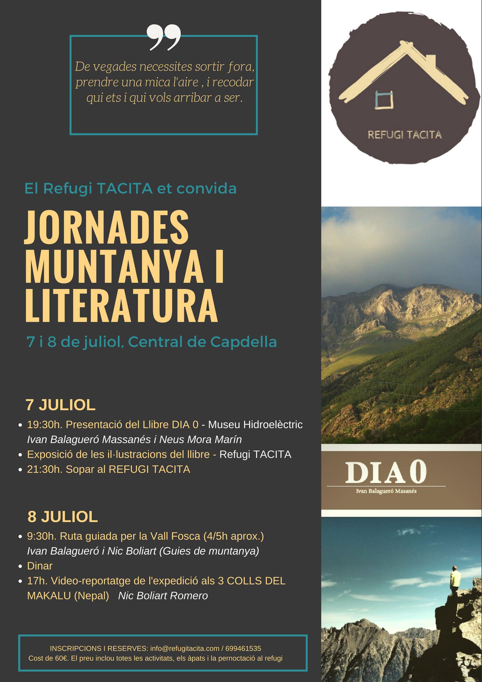 JORNADES MUNTANYA I LITERATURA
